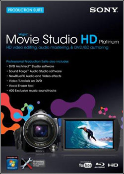Download   Sony Vegas Movie Studio HD Platinum v11.0.293 + Keygen (2012)